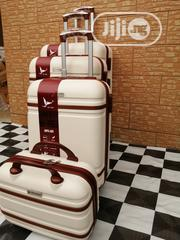 Beautiful Trolley Luggage Bags (4 Sets) Cream Colors | Bags for sale in Lagos State, Ikeja