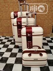 Travelling Trolley Luggage Bags (4 Sets) Cream Color | Bags for sale in Lagos State, Ikeja