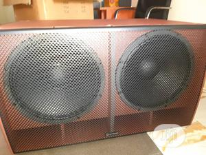 Crown Double Subwoofer Cx218 | Audio & Music Equipment for sale in Lagos State, Ikeja