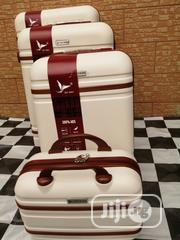 Cream Color Quality 4 Set Travel Luggage Available For Sale | Bags for sale in Lagos State, Ikeja