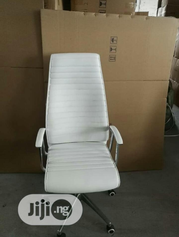 Archive: Executive Office Chair(White)