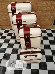 Carry on Trolley Luggage Bags, (4 Sets) Cream Color | Bags for sale in Lagos State, Ikeja