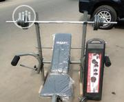 Weight Bench and 50kg Dumbells   Sports Equipment for sale in Akwa Ibom State, Etim-Ekpo