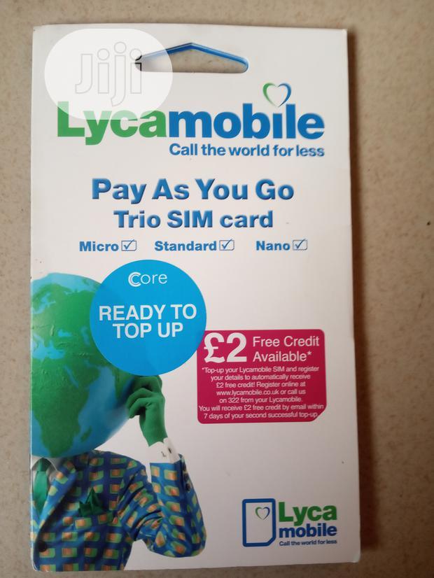 Archive: UK SIM Card