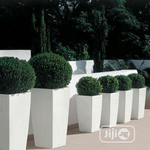 Nice Flower Pots With Artificial Plants.   Garden for sale in Lagos State, Lekki