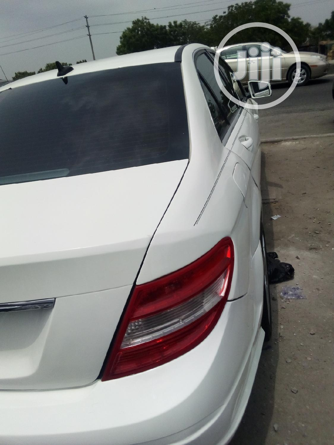 Mercedes-Benz C300 2010 White | Cars for sale in Ikeja, Lagos State, Nigeria