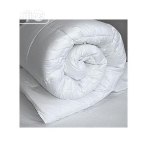 Pure White 7x7 Duvet,Bedsheet With 4 Pillow Cases   Home Accessories for sale in Lagos State, Ikeja
