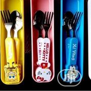 12pcs Kids Steel Character Cutlery With Plastic Handle | Babies & Kids Accessories for sale in Lagos State, Amuwo-Odofin
