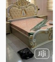 Confortable Royal Bed Queen Size Classy Unique Amd Lovely | Furniture for sale in Lagos State, Ilupeju