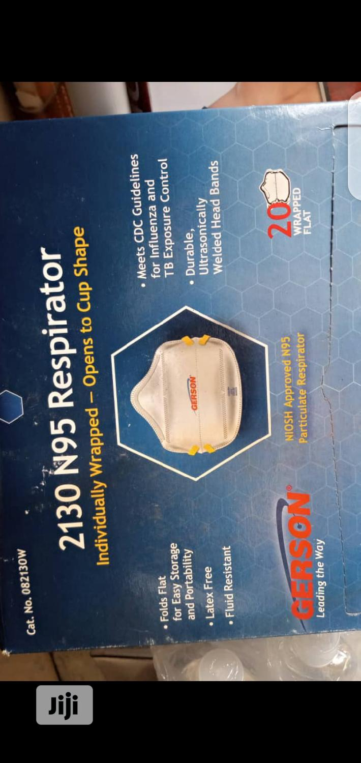 Gerson 2130 N95 Smart-mask Particle Respirator Mask - 20-pack   Safetywear & Equipment for sale in Ikeja, Lagos State, Nigeria
