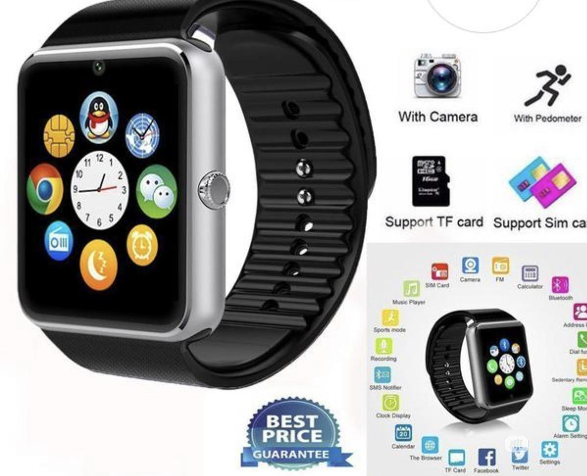 GT08 Smart Watches | Smart Watches & Trackers for sale in Ikeja, Lagos State, Nigeria