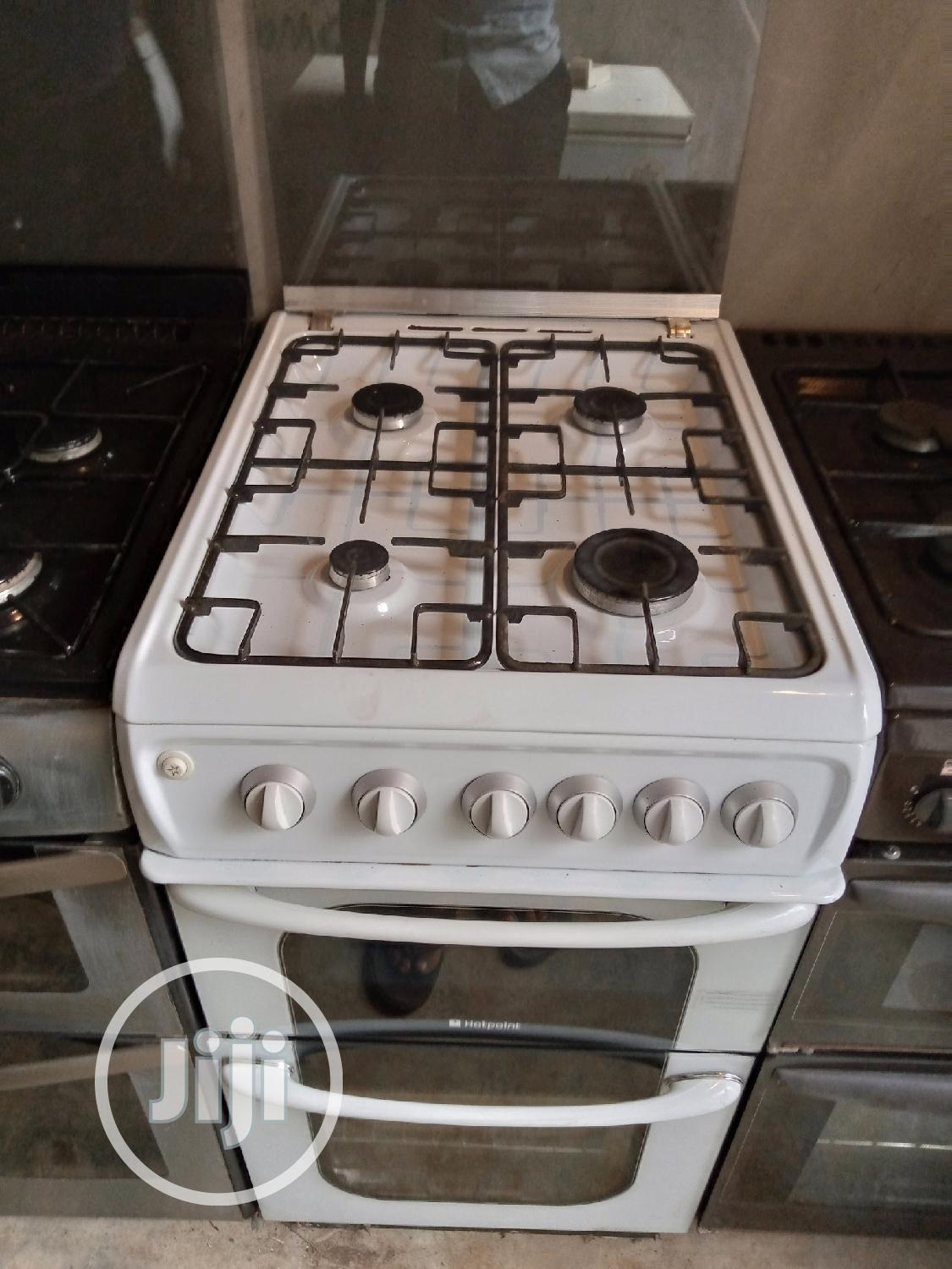 Hotpoint Gas Cooker, Oven and Grills | Kitchen Appliances for sale in Lagos Island (Eko), Lagos State, Nigeria