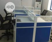 This Is Brand New Quality Four Seaters Workstation It Is Very Strong   Furniture for sale in Lagos State, Ilupeju