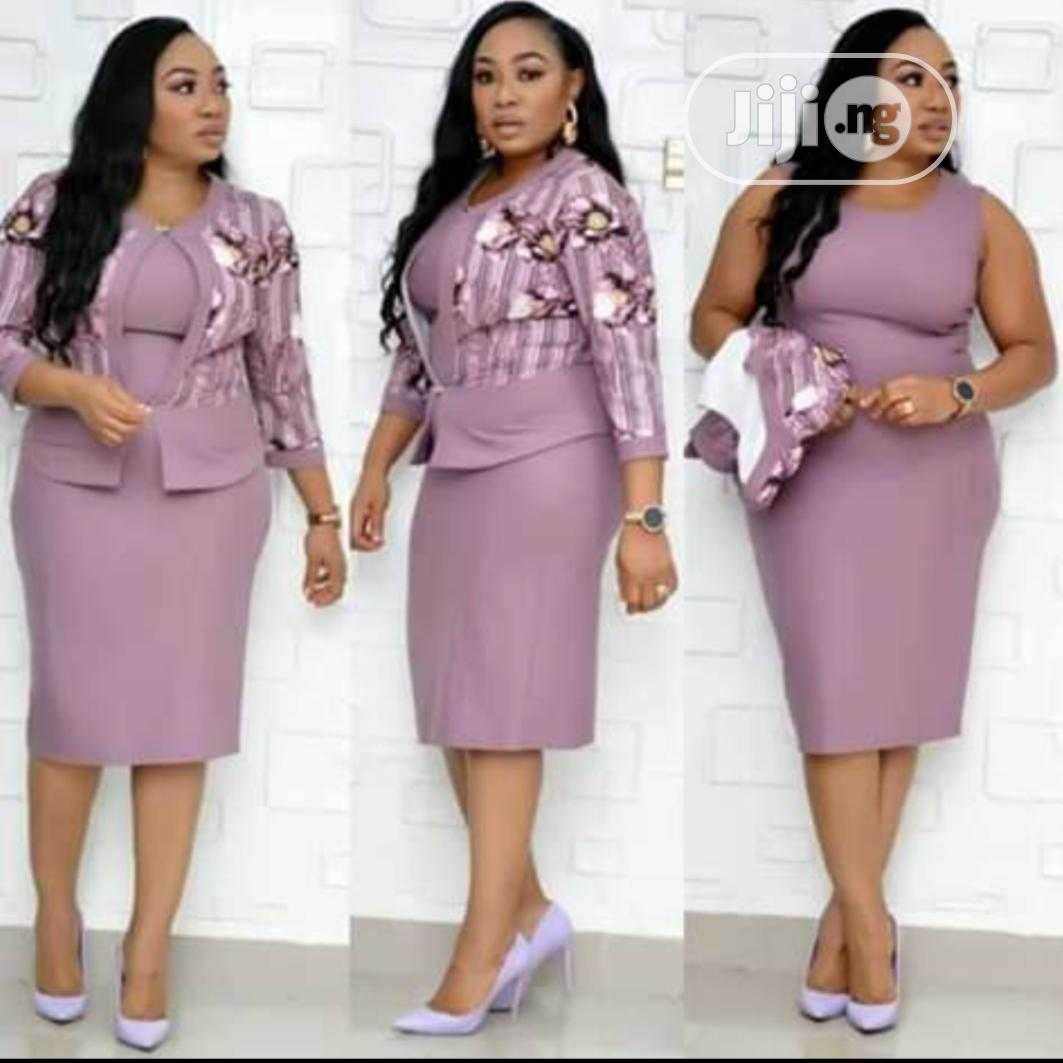 New Quality Turkey Lady Dress and Jacket | Clothing for sale in Lagos Island, Lagos State, Nigeria