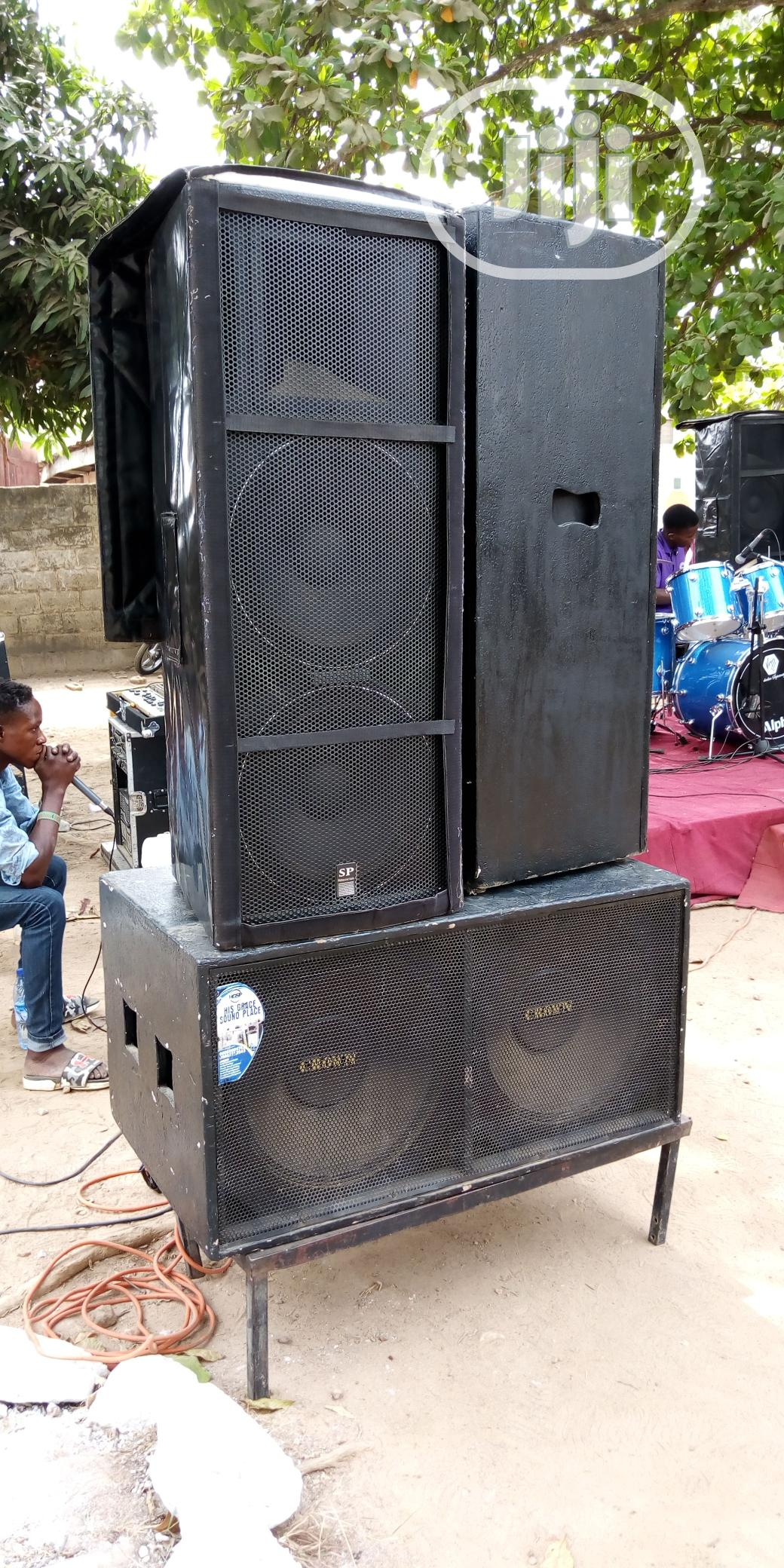 Sound Equipment Rentage | DJ & Entertainment Services for sale in Ibadan, Oyo State, Nigeria