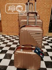 4 Wheels, 5 Sets Of Trolley Luggage Bags Brown Color | Bags for sale in Lagos State, Ikeja