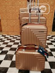Family Sized Brown Color, Travelling Bags With Wheels (5 Sets) | Bags for sale in Lagos State, Ikeja