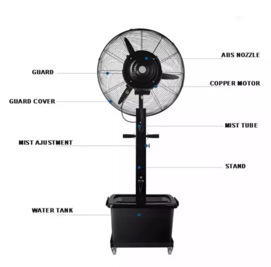 "26"" Ox Mist Fan 