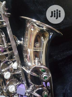 Yamaha Saxophone Silver YAS-2000 | Musical Instruments & Gear for sale in Lagos State, Ojo