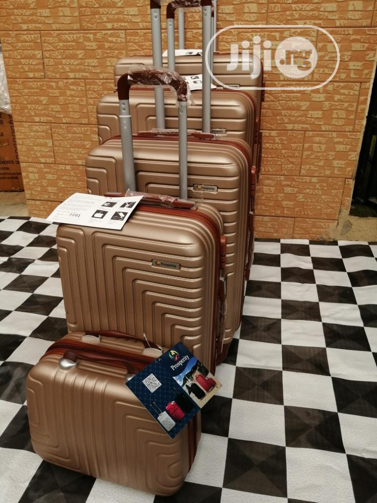 Travel Bag, Travelling Luggage Brown Color 5 Sets