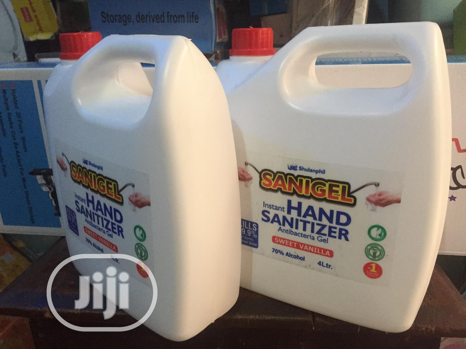 Archive: 4litres Hand Sanitizer Anti Bacteria Gel