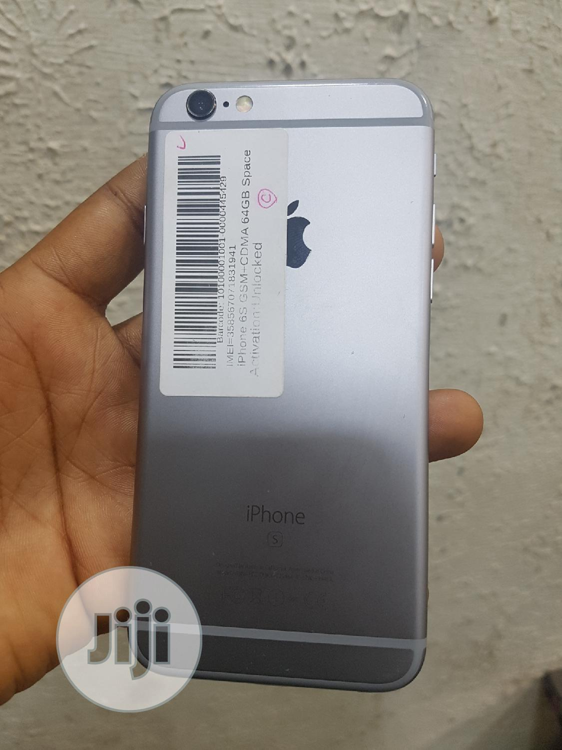 Apple iPhone 6s 64 GB Gray | Mobile Phones for sale in Ikeja, Lagos State, Nigeria