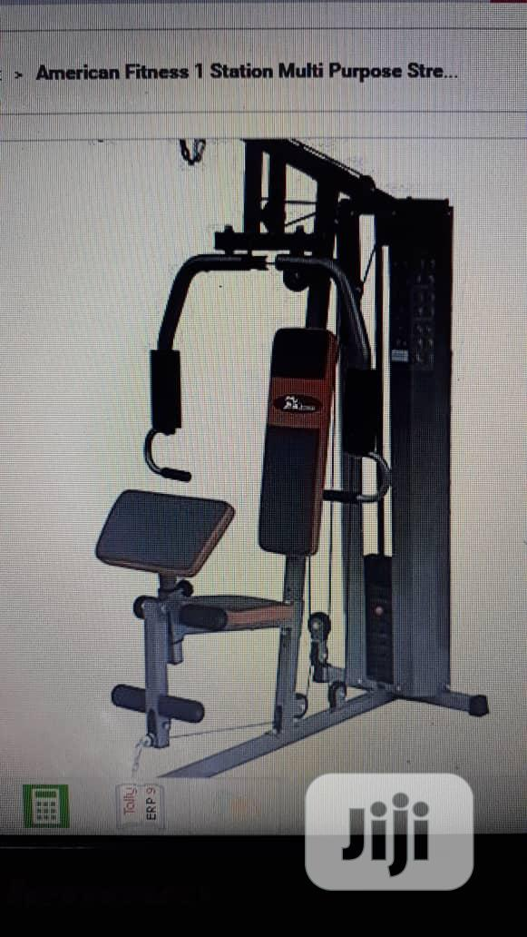American Fitness Commercial One Station Gym