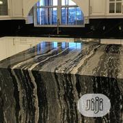 New Granite Slab Custom Kitchen Countertop Design | Building Materials for sale in Lagos State, Lekki Phase 1