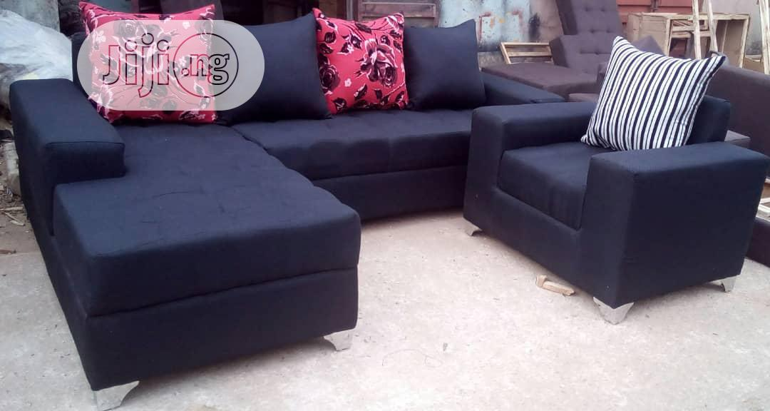 L Shape Sofa With Singhle