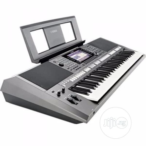 Yamaha Workstation Keyboard With Adapter - PSR S770   Musical Instruments & Gear for sale in Ikeja, Lagos State, Nigeria