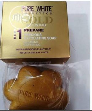 Pure White Gold Exfoliating Soap   Bath & Body for sale in Lagos State, Amuwo-Odofin