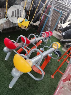 Attractive 4 Seat Seesaw Swing For School Playground | Toys for sale in Lagos State, Ikeja