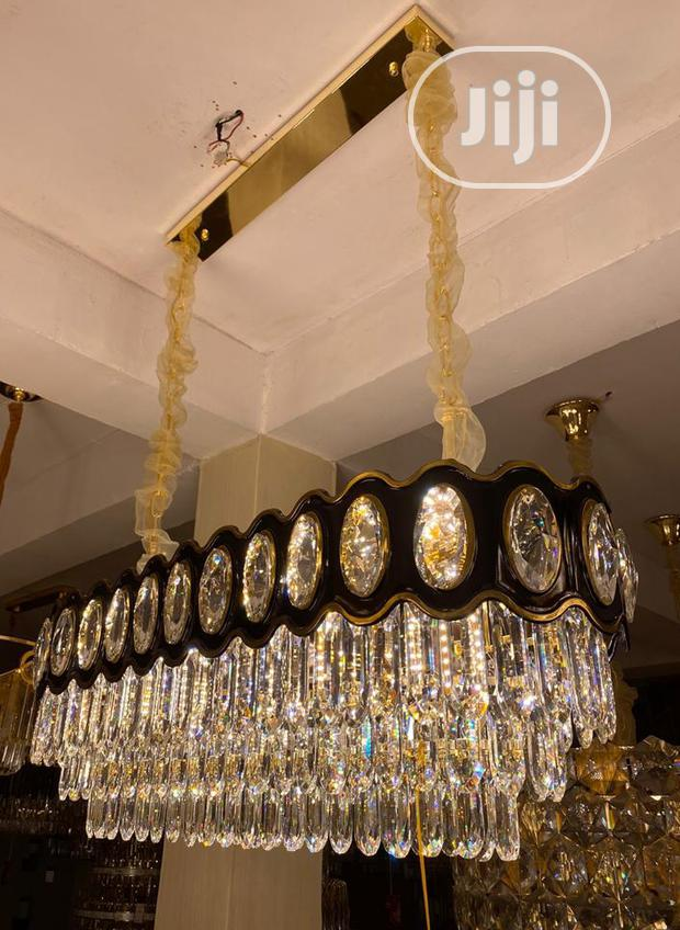 New Dropping Crystal Chandelier Lamp