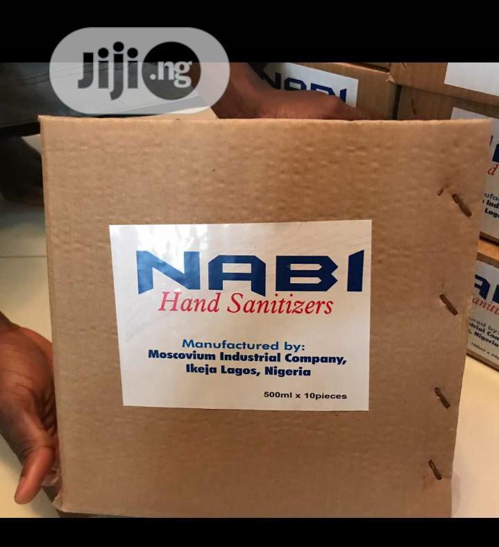 Nabi Hand Sanitizer | Skin Care for sale in Ikeja, Lagos State, Nigeria