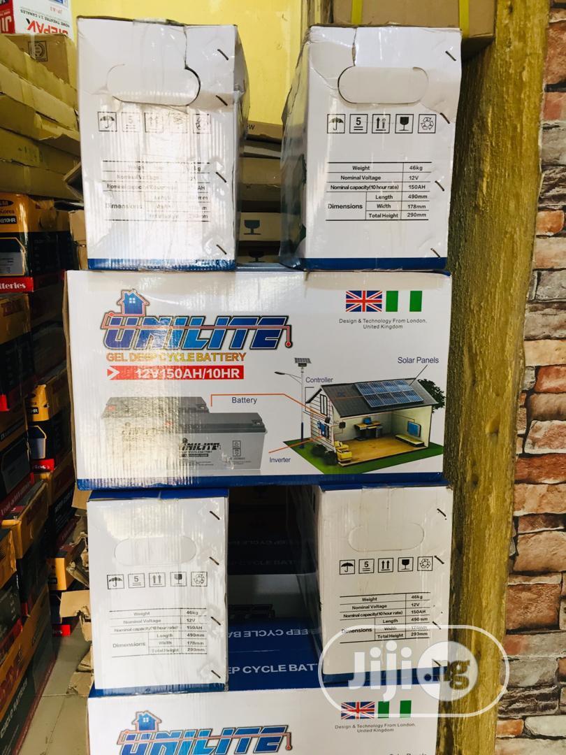UNILITE Solar Battery 12v / 200ah