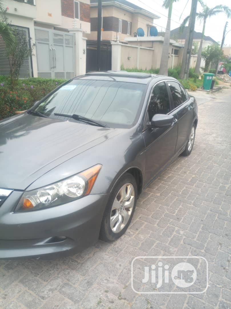Honda Accord 2008 2.4 EX Automatic Gray | Cars for sale in Ojota, Lagos State, Nigeria