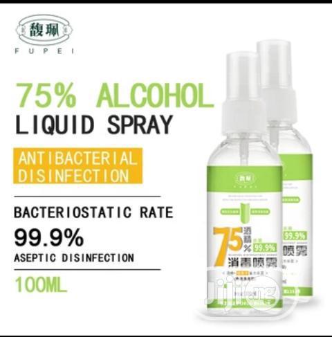 75% Alcohol Hand Sanitizer 100ml - Alcohol Spray Bottle