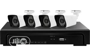 4CH NVR With 2.0 Megapixel POE 4 Bullet IP Cameras Complete KIT | Security & Surveillance for sale in Lagos State, Ikeja