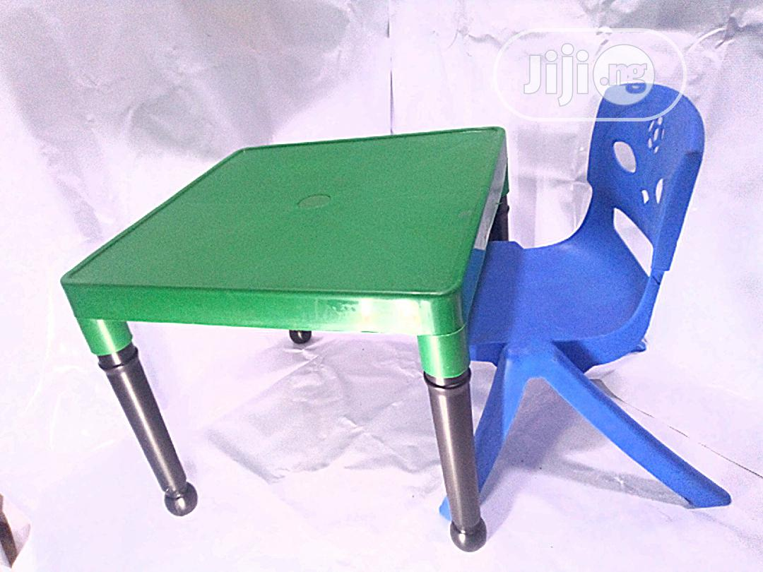 Kids Plastic Strong Table And Chair
