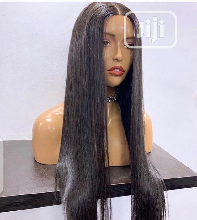 Human Hair Wig With Closure