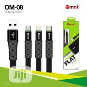 Omni Usb High Quality Flat Cable | Accessories for Mobile Phones & Tablets for sale in Lagos State, Ojo
