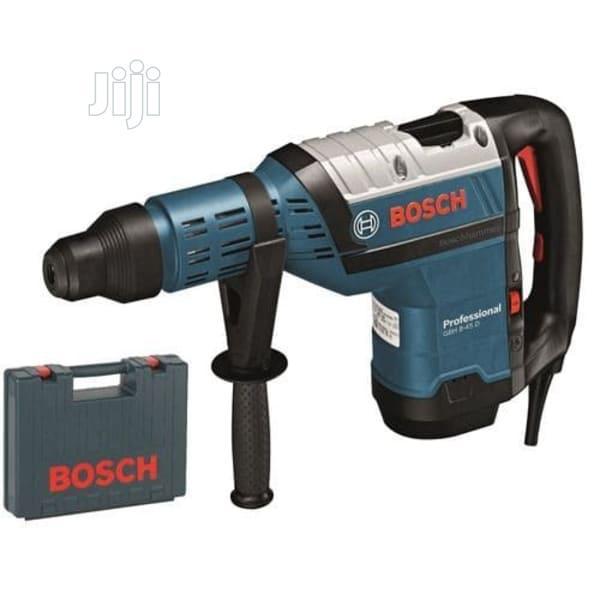 Bosch Heavy Duty Rotary Hammer Drill - Gbh 8-45d - 1500watts