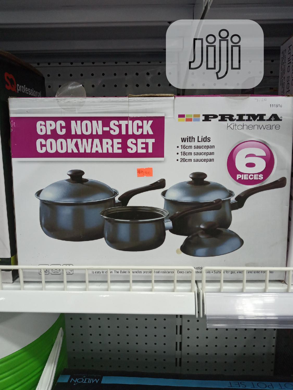 Archive: 6pieces Non-stick Prima Kitchenware Set