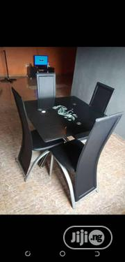 Simple Dining Table With 4 Chairs | Furniture for sale in Lagos State