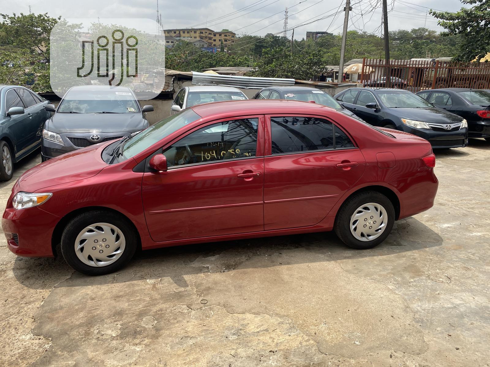 Toyota Corolla 2009 Red   Cars for sale in Ikeja, Lagos State, Nigeria