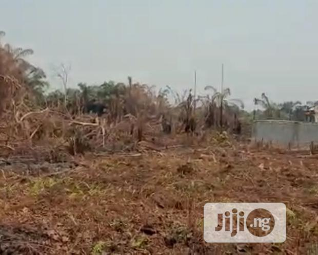 Full Plot Of Dry Land For Sale At A Good Location At Awoyaya