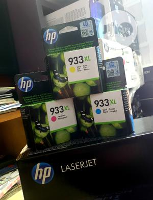 Genuine Hp Ink 933xl Yellow/Cyan/Magenta | Computer Accessories  for sale in Lagos State, Ikeja