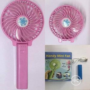 Handy Mini Rechargeable Fan | Home Accessories for sale in Lagos State, Lekki