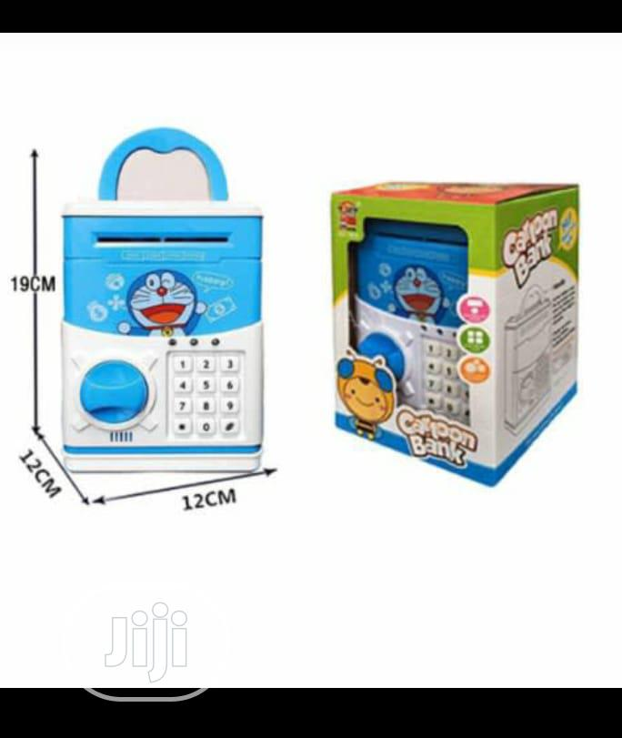 Electronic ATM Piggy Bank Money Safe Box For Kids - Blue | Babies & Kids Accessories for sale in Mushin, Lagos State, Nigeria