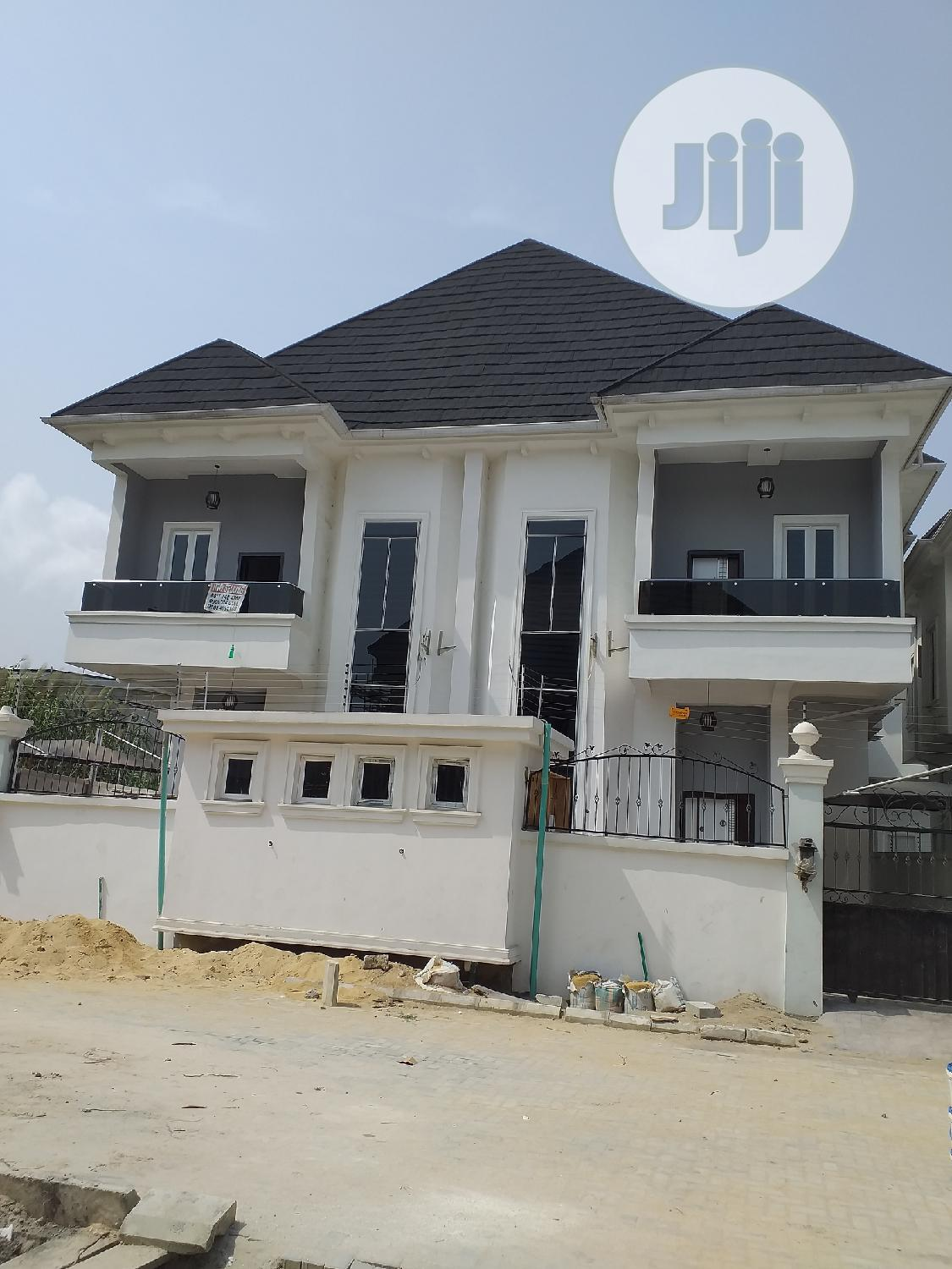 Brand New Well Finished With 4 Bedrooms Semi Detached Duplex With BQ